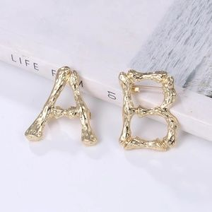 Jewelry - GORGEOUS BROOCHES LETTER A,B NEW